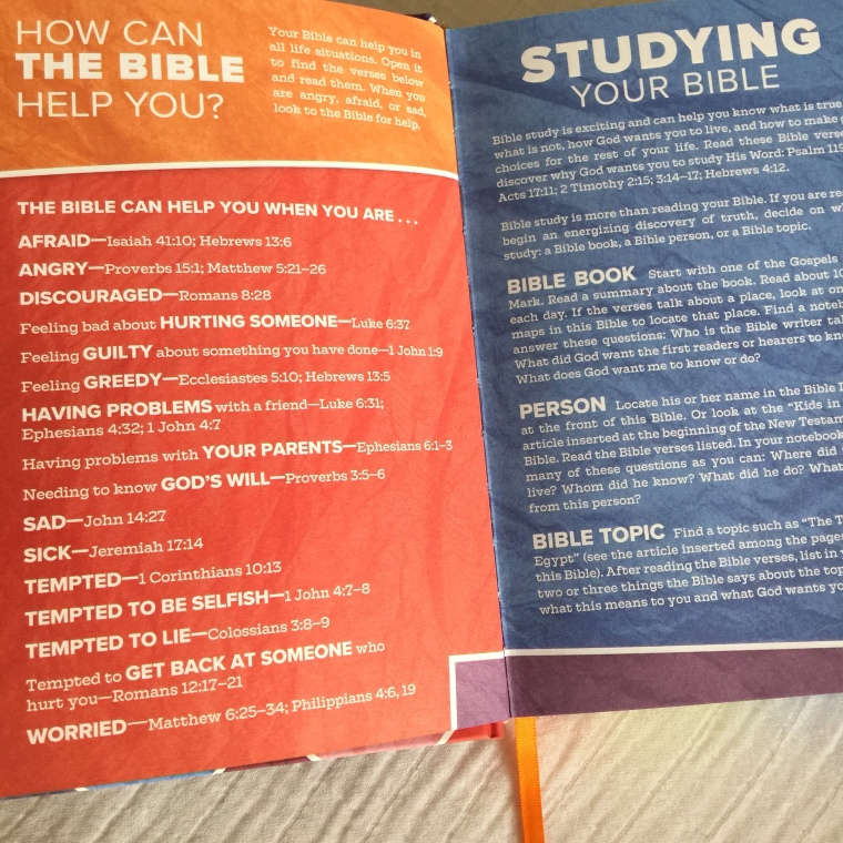CSB Kids Bible [Review] – Kountingsheep