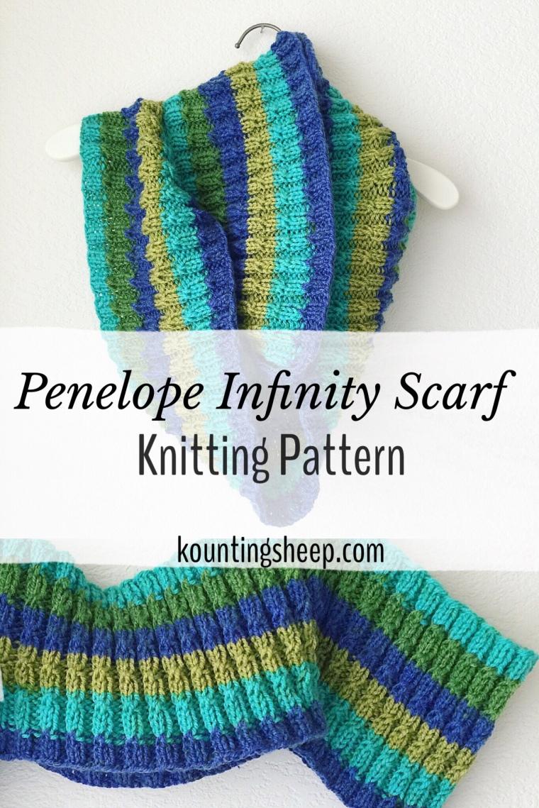 Penelope Infinity Scarf Kountingsheep
